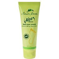 Kem dưỡng và trị nứt gót chân Aloe Miracle Foot Care Cream 80ml thumbnail