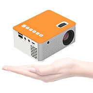 Mini Portable Video Projector LED Movie Projector Home Theater 1080P Supported 110 Inch Display with USB TF AV Input for thumbnail
