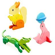 Combo 03 Đồ chơi lắp ghép con vật 3D cho bé (mẫu ngẫu nhiên) thumbnail