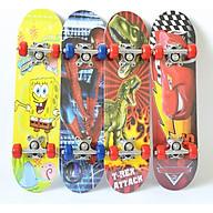 Ván Trượt sketeboard trẻ em A28 phù hợp cho các bé có cân nặng 15 đến 25kg trục làm bằng hợp kim bánh cao su pha nhựa thiết kế nhỏ gọn, nhẹ , dễ chuyển hướng sang trái sang phải thumbnail