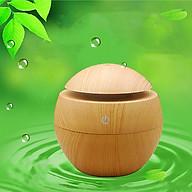 Máy xông tinh dầu gỗ tròn, Máy khuếch tán tinh dầu nhỏ gọn, Máy khuếch tán tinh dầu thumbnail