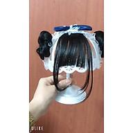 Mũ turban Tiểu Thư Kèm tóc Giả Cho bé yêu thumbnail