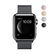2018 Latest Stainless Steel Mesh Milanese Loop with Adjustable Magnetic Closure Replacement Band Case for Apple Watch Series 1 2 3 and Edition 38mm 42mm thumbnail