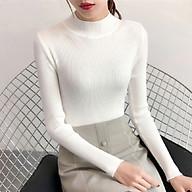 Áo len nữ cổ tròn tay dài co giãn phong cách Hàn Quốc DG-1063 chất liệu Acrylic cao cấp thumbnail