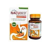 Thực phẩm bảo vệ sức khỏe NACUBEST 50 G - Nano curcumin 20% - Hỗ trợ cho người viêm loét dạ dày - tá tràng thumbnail
