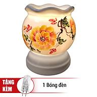 Đèn Xông Tinh Dầu Gốm AH17 (Size L) + Tặng Kèm 1 Bóng Đèn thumbnail
