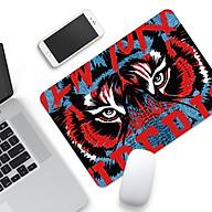 Bàn Di Chuột (Tấm Lót Chuột, Mouse Pad) Chính Hãng EXCO Tranh Con Hổ Siêu Đẹp Siêu Ngầu (Bàn di chuột chơi game) thumbnail