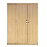 Tủ quần áo bằng gỗ 3 cánh 2mx1m2 màu vàng thumbnail