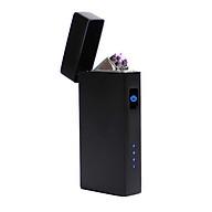 Bật lửa điện cảm ứng tạo tia Plasma chéo sạc pin USB nhỏ gọn tiện lợi thumbnail