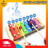 Đàn Gỗ 8 Âm Cho Bé Montessori cao cấp Đồ chơi Gỗ - Giáo dục - An toàn - Thông minh thumbnail