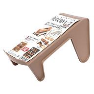 Kệ Để Giày Dép Cất Gọn Màu Nâu - Nội Địa Nhật Bản thumbnail