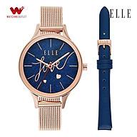 Đồng hồ Nữ Elle dây thép không gỉ 34mm - ELL27002 thumbnail