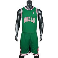 Bộ quần áo bóng rổ Bulls - Xanh Két thumbnail