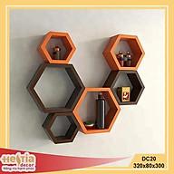 Kệ lục giác, kệ tổ ong gắn tường trang trí Hestia decor thumbnail