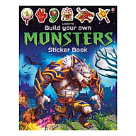 Usborne Build Your Own Monsters Sticker Book thumbnail
