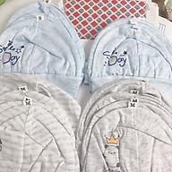 Set 4 mũ cotton sơ sinh dokma thumbnail