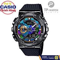Đồng hồ nam Casio G-Shock GM-110B-1ADR chính hãng G-Shock GM-110B-1A Black Titan thumbnail