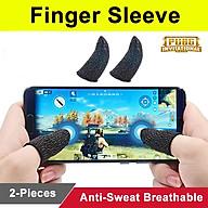 Bộ Găng tay chơi game cảm ứng bao ngón tay chống mồ hôi chống trượt thumbnail