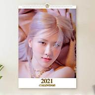 Lịch Rose Blackpink 2021 lịch treo tường khổ A3 thumbnail