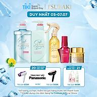 Bộ 5 Tsubaki mát lạnh sạch dầu và chăm sóc tóc chuẩn salon (Gội Xả 490ml chai + Xịt dưỡng tóc 220ml + Mặt nạ tóc 180g + Dầu dưỡng 50ml) thumbnail
