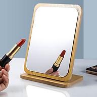 Gương trang điểm để bàn bằng gỗ Dovaty G3 phong cách hàn quốc thumbnail