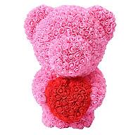 Gấu Hoa Hồng Ôm Trái Tim Dễ Thương Làm Quà Cho Bạn Gái thumbnail
