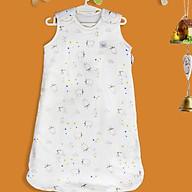 Túi ngủ organic cotton cho bé - túi ngủ mùa đông cho bé đủ size từ 0 tới 24 tháng Tinylove thumbnail