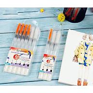 Bộ Bút Vẽ Màu Nước, Cọ Vẽ WaterBrush Set 3 Cây Set 6 Cây - Giao Màu Ngẫu Nhiên thumbnail