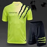 Bộ đồ thể thao cho nam in chữ Monster đủ 3 màu cực bền và đẹp BTT001 thumbnail