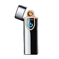 Bật lửa hộp quẹt sạc điện qua cổng USB (Giao màu ngẫu nhiên) thumbnail