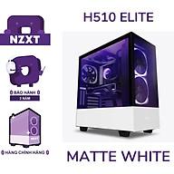 Vỏ Case Máy Tính NZXT H510 ELITE - Trắng sần- Hàng Chính Hãng thumbnail