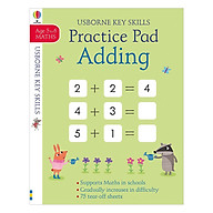 Usborne Adding and Subtracting Practice Pad thumbnail