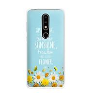 Ốp lưng điện thoại Nokia 6.1 plus X6 - 01171 7811 Cúc Họa Mi 03 - Silicone dẻo - Hàng Chính Hãng thumbnail