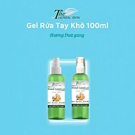 Gel rửa tay khô The Herbal Skin xát khuẩn làm mềm da tiêu diệt đến 99% vi khuẩn - 80ml thumbnail
