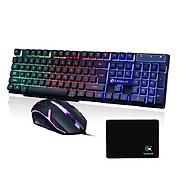 Bộ bàn phím và chuột chuyên Game Led 7 màu LIMEIDE GTX300 + Tặng lót chuột thumbnail