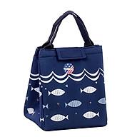Túi giữ nhiệt đựng hộp cơm họa tiết cá thumbnail
