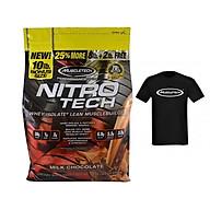 Sữa tăng cơ siêu hạng Nitrotech Muscletech 10lbs (4.5kg)mùi Sô cô la & tặng áo thumbnail