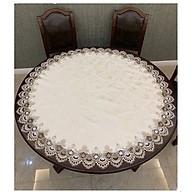 Khăn trải bàn tròn 1m2 cao Cấp ( không bao gồm khăn trải mâm xoay) thumbnail