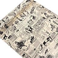 10m Giấy dán tường giấy báo C0061 thumbnail