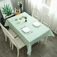 Khăn trải bàn nhựa PVC không thấm nước, khăn trai bàn có hoạ tiết đẹp phù hợp với mọi nhà thumbnail