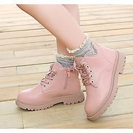 Giày bốt cho bé gái Phong Cách Hàn Quốc TTV35 thumbnail