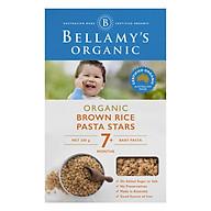 Nui Hình Sao Từ Gạo Lức Hữu Cơ Bellamy s Organic (200 g hộp) thumbnail