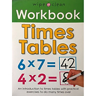 Wipe Clean Workbook Times Tables thumbnail