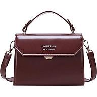 Túi xách tay đeo chéo nữ thời trang T08 size 19x18x14cm dây đeo chéo da phụ kiện thời trang nữ - T08-1 thumbnail