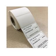 Giấy in mã vạch nhiệt 40x30mm cuộn 30m thumbnail