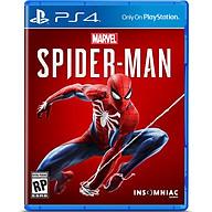 Đĩa Game PlayStation PS4 Sony Marvel Spider Man hệ Asia - Hàng Nhập Khẩu thumbnail