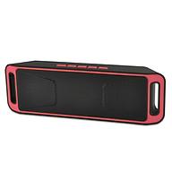 Loa Bluetooth SC208 - Đỏ thumbnail