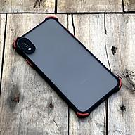 Ốp lưng chống sốc toàn phần màu đen dành cho iPhone XS MAX thumbnail