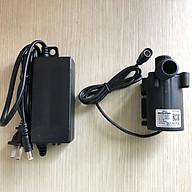 BƠM CHÌM HỒ CÁ BLUEFISH LOẠI NHỎ (24V DC) GIÁ THANH LÝ (1 bộ bao gồm 1 bơm chìm và 1 bộ AC chuyển đổi dòng điện) thích hợp sử dụng cho bể cá, hệ thống thuỷ canh, hồ thuỷ sinh nhỏ... thumbnail