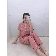 Set đồ mặc nhà tay ngắn quần dài - Giao màu ngẫu nhiên - Freesize - HUYEN thumbnail
